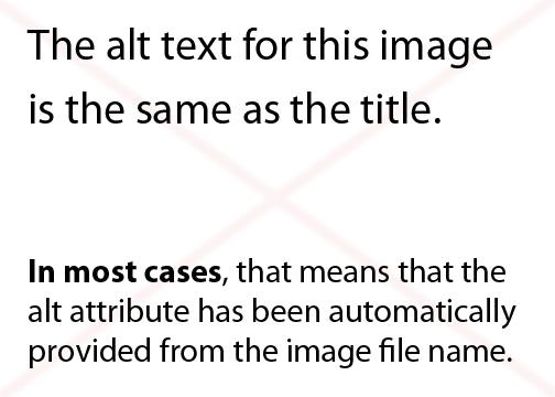 De alt tekst van deze afbeelding is hetzelfde als de titel. In de meeste gevallen betekent dit dat de bestandsnaam automatisch is ingevuld bij het alt-attribuut.
